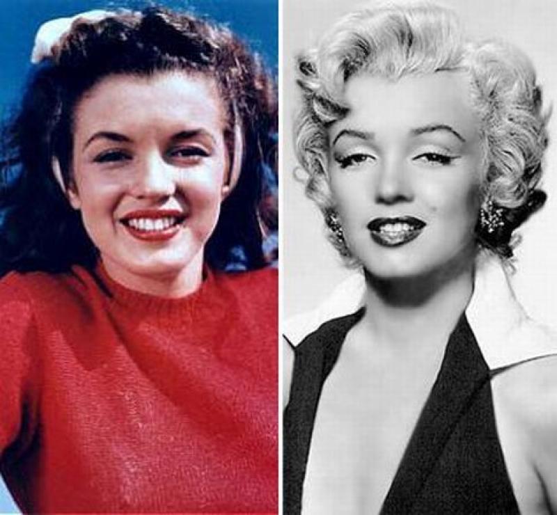 Мэрилин монро фото до и после пластики